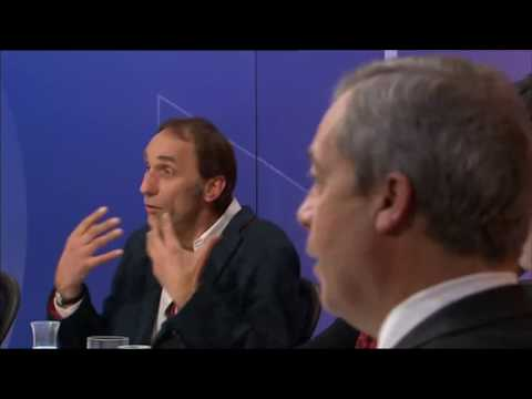 Will Self takes down Trump and Farage on Question Time