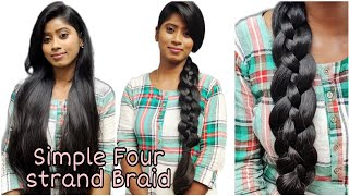 Simple Braid Hairstyle for Medium to Long Hair   Long Hair Princess