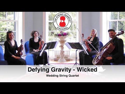 Defying Gravity (Glee) Wedding String Quartet