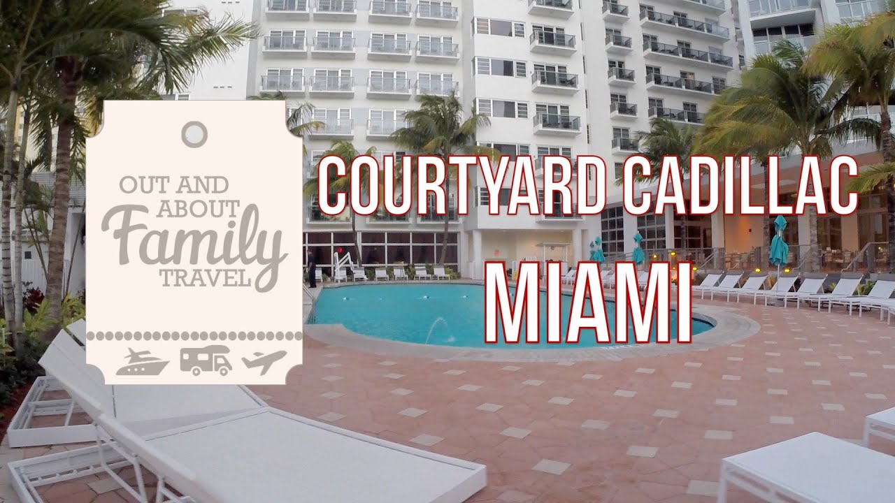 Courtyard Cadillac Miami Beach Oceanfront Florida Usa