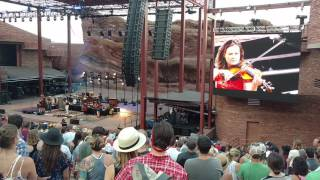 "Avett Brothers ""The Once and Future Carpenter"" Red Rocks Amphitheatre, CO 7/9/2017"