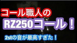 【コール】コール職人のRZ250コール!2stの音がヤバすぎた!