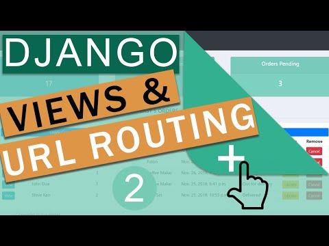 URLS And Views   Django Framework (3.0) Crash Course Tutorials (pt 2)