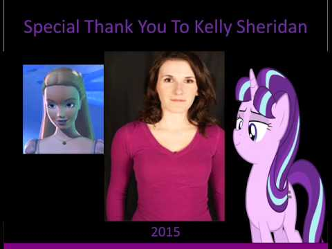 Special Thank You To Kelly Sheridan