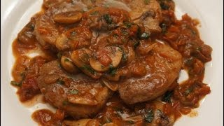 Beef Medallions With Mushrooms & Red Wine Recipe - How To Cook Great Beef Steak In Sauce