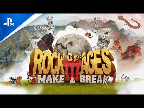 Rock of Ages 3: Make & Break - Launch Trailer | PS4