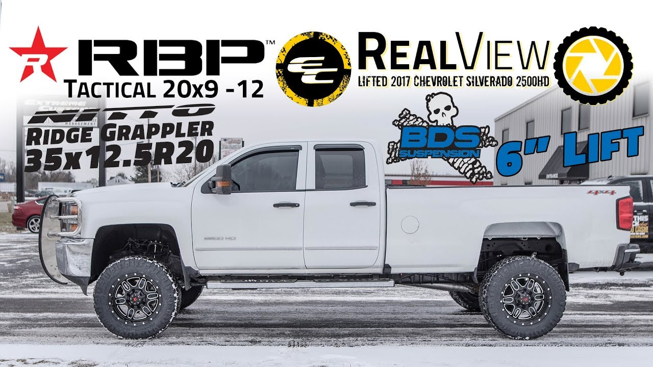 Realview Lifted 2017 Chevy Silverado 2500hd W 6 Bds Lift 20x9