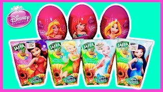 Disney Princess Surprise Eggs with Toys Disney Fairies the juices for Girls