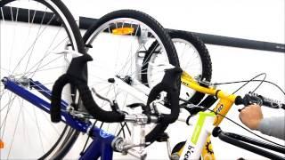 Kenovo DuraTrax vertical bike storage system - www.kenovoduratrax.com