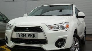 2014 14 Mitsubishi ASX 1.8 3 5DR In White