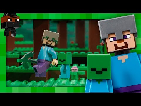The Zombie Cave - LEGO Minecraft - 21141 - Stop Motion