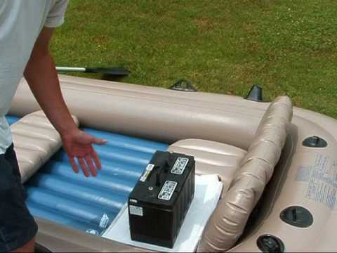 Intex excursion 5 inflatable boat part 2 making the f for Wood floor intex excursion 5