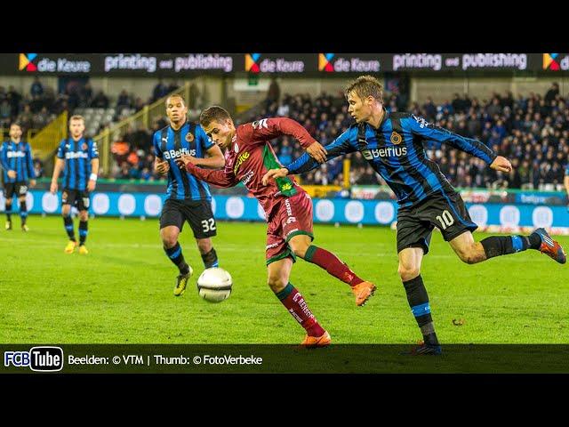 2012-2013 - Jupiler Pro League - 14. Club Brugge - Zulte Waregem 0-1