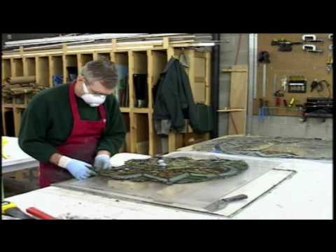Restoration of a Tiffany Stained Glass Window~~Part 2