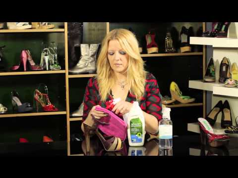 How To Clean Shoes With Household Items : Women's Shoes