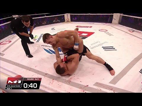 Artiom Damkovsky Vs Alexey Makhno / Артем Дамковский Vs Алексей Махно, M-1 Challenge 72