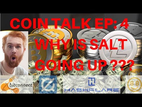 COIN TALK EP: 4  WHY IS SALT GOING UP