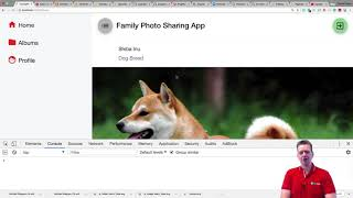 The Advanced Photo Sharing App   S1p97   Setting up the UI of file details and adding static values