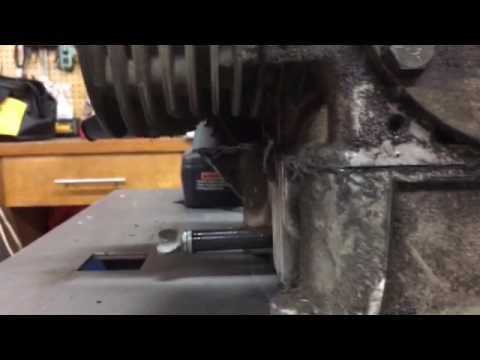 Clean cylinder heads