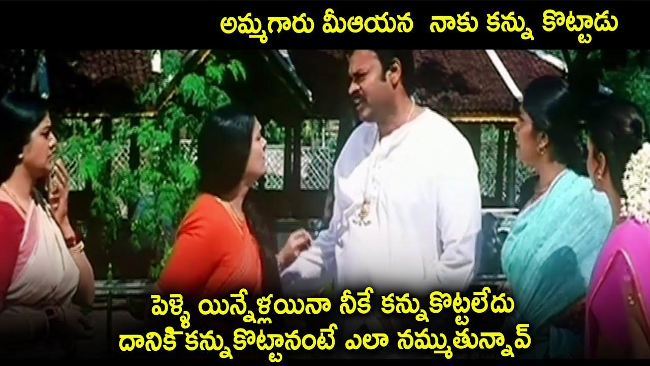 Naga Babu Back To Back Hilarious Comedy Scenes | Maa Cinemalu