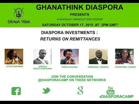 Diaspora Investments & Returns on Remittances