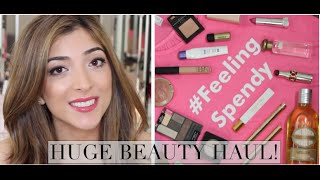 Huge Beauty Haul - Sephora VIB, Drugstore & Space NK + LONDON MEETUP! | Amelia Liana Thumbnail