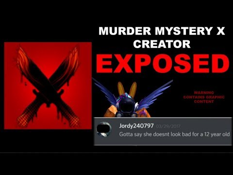 Murder Mystery X Creator Jordy240797 EXPOSED (Roblox) part 1