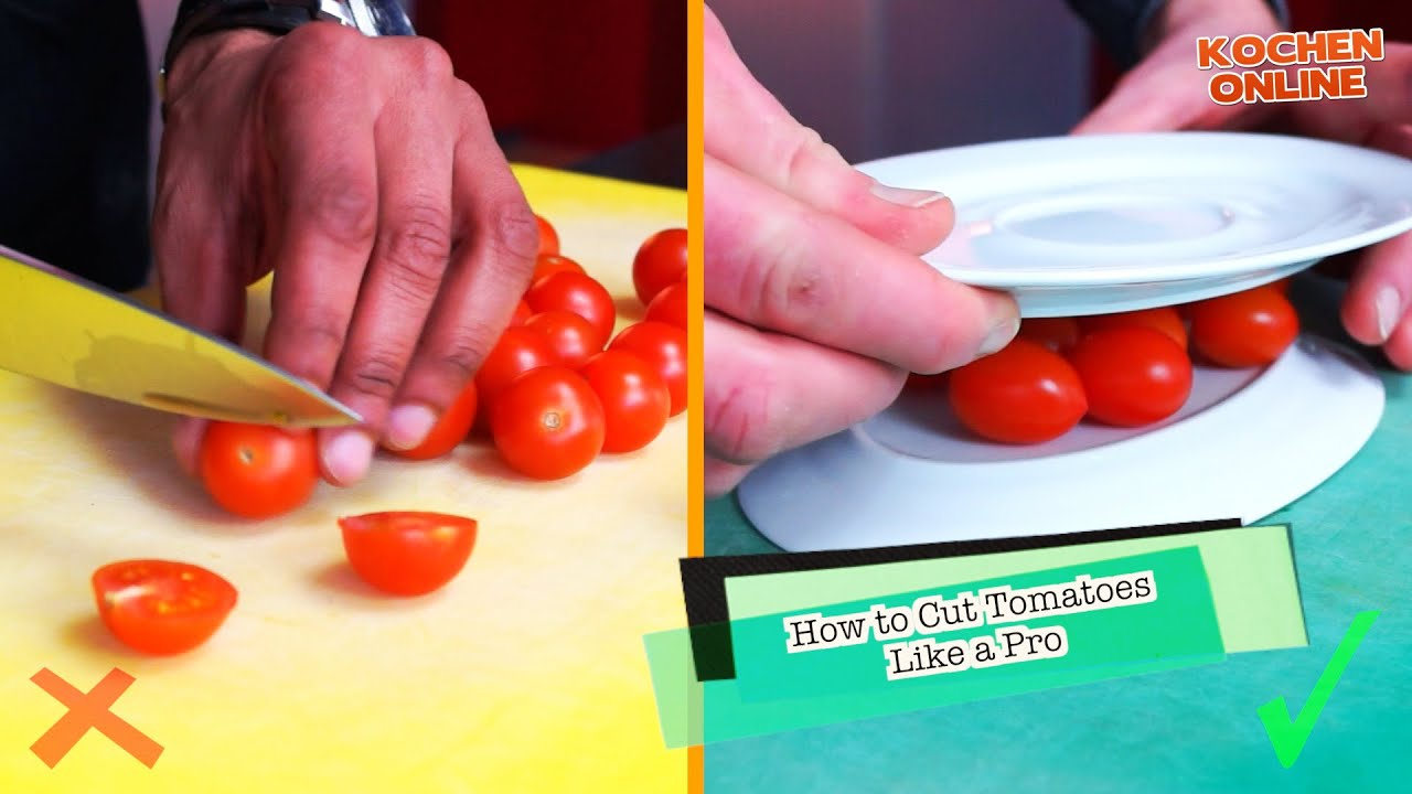 How to cut tomatoes 25