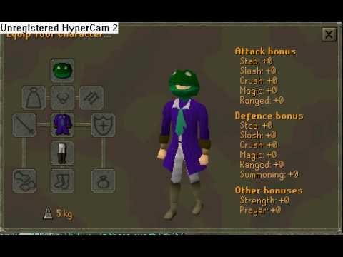 Runescape frog costume & Runescape frog costume - YouTube