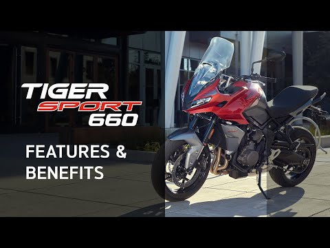 New Tiger Sport 660 Features and Benefits