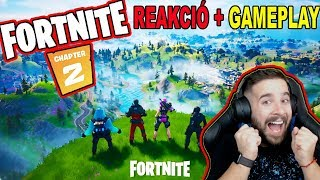FORTNITE 2. FEJEZET ! | ELSŐ GAMEPLAY és Battle Pass REAKCIÓ ! FORTNITE CHAPTER 2 SEASON 1