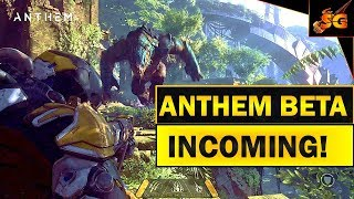 Anthem huge news: beta incoming!!  bioware confirms that a beta for anthem will be coming out