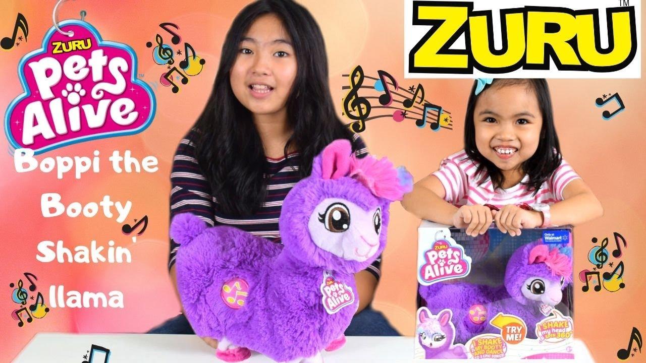 Zuru Pets Alive Boppi The Purple Booty Shakin Llama Youtube