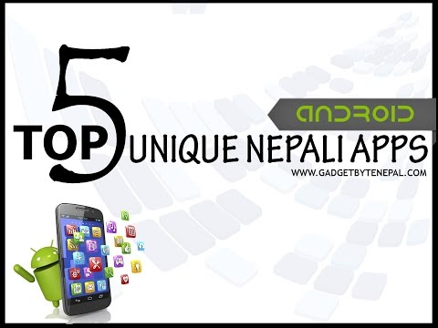 Top 5 Unique Nepali Apps