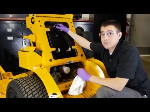 How To Change The Hydro Oil On Your Mower