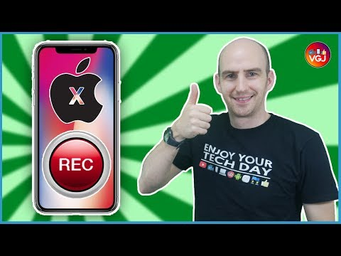 Screen Record Your iPhone X - A Beginner's Guide: How to Directly Record Your iOS Screen For Free!