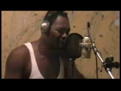Daddy Turbo in Jamaica (Reggae artist Tony D at work at Jamrock studio avi