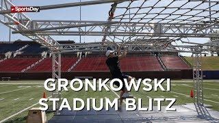 Gronkowski Brothers Stadium Blitz obstacle course