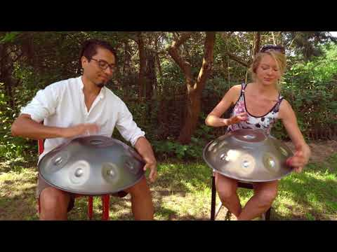 Opsilon Handpan Duo - Kate Stone & Rafael Sotomayor