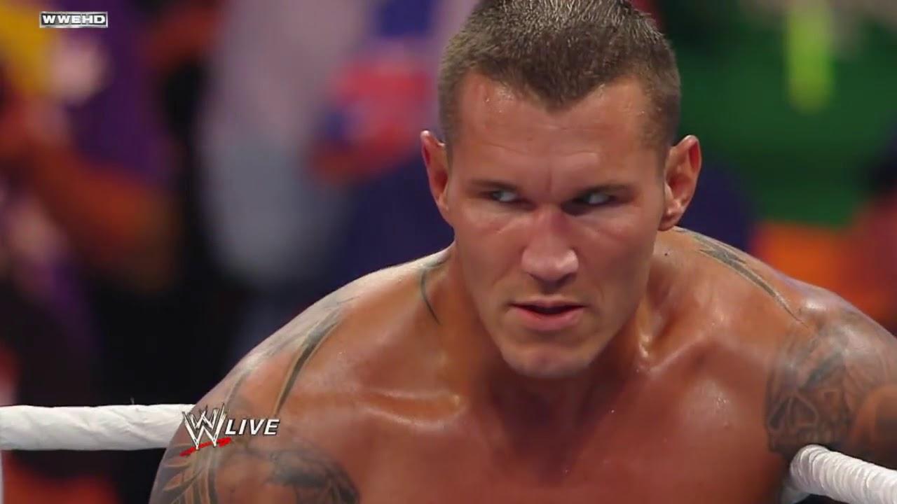 Randy Orton Vs Wade Barrett Wwe Championship Match The
