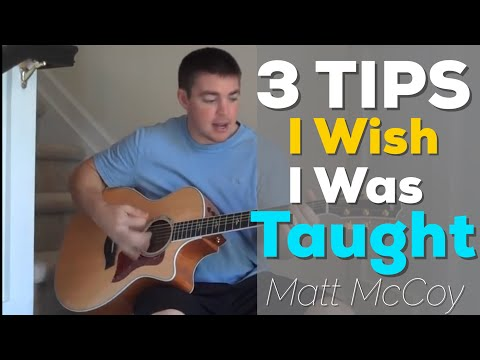 3 Guitar Tips I Wish I Was Taught...