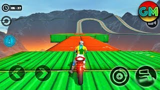 Impossible Moto Bike Tracks 3D #New Bike Unlocked (by Tech 3D Games Studios) Android Gameplay HD
