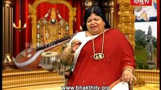 Devotional Singer Shobha Raju Special   Swararchana_Part 2   Bhakthi Tv