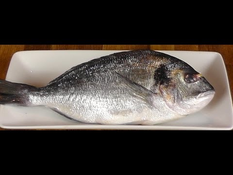 How To Butcher Whole Orata - How To Fillet Orata - How To Gut Fish - Cooking Classes