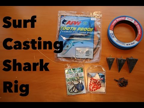 How To Make A Shark Rig For Surf Casting (Tackle Tuesday #2)
