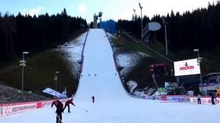 Skocznia w Klingenthal w piątek [02.12.2016]
