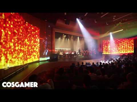 Halo and Attack on Titan (Shingeki no Kyojin) Live Orchestra in HD Video Game Concert
