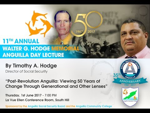ASSB/ACC Annual Walter G Hodge Memorial Lecture 2017