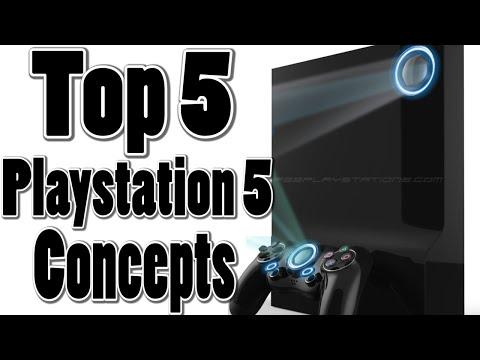 Top 5 PS5 Concepts (Best Playstation 5 Designs) (PS4 Successor, PS4K, PS Neo)