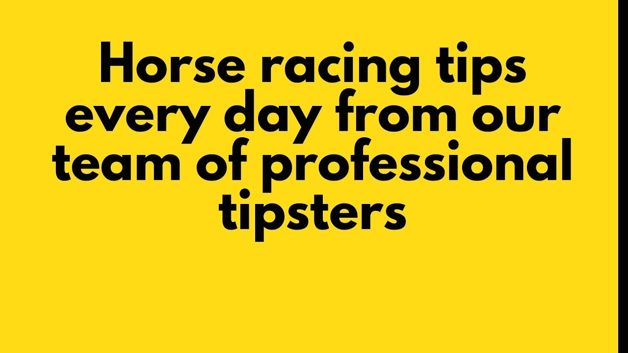 Download Mega Tipsters - Horse racing tips every day from our team of professional tipsters